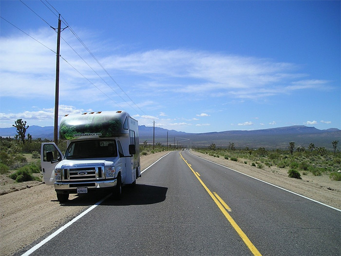 rv-on-road