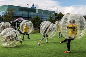 bubble-footbal
