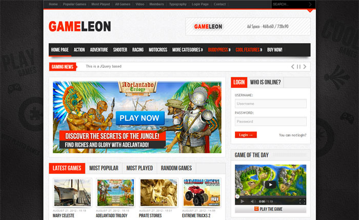 gameleon-theme