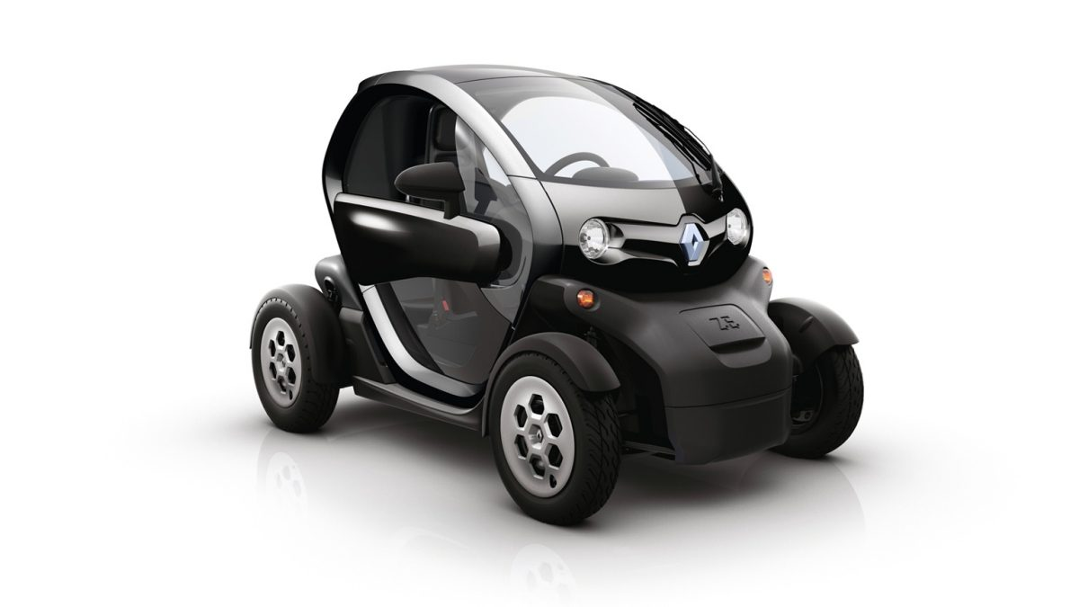 twizy cargo electric car
