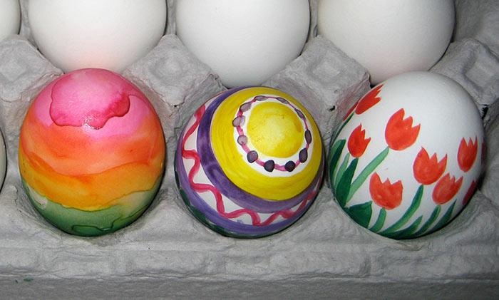 decorated-eggs