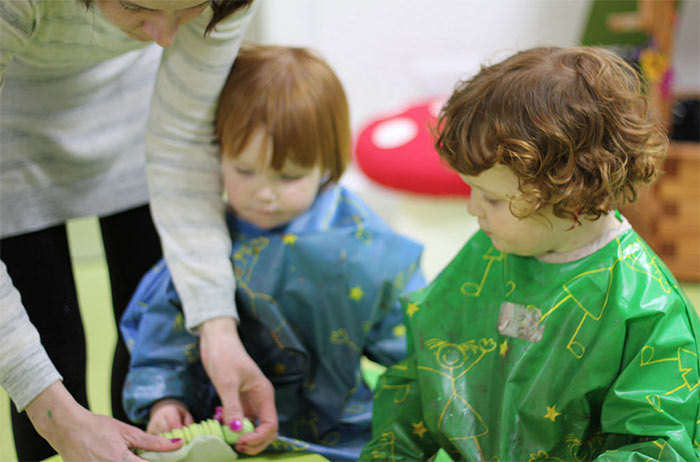 work-alongside-others-messy-play
