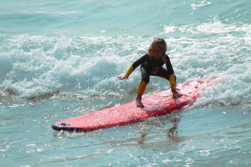 children-swimming-water-sea-surf