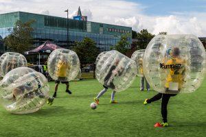 bubble-footbal