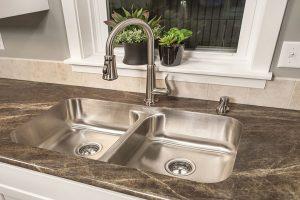 clogged-kitchen-sink