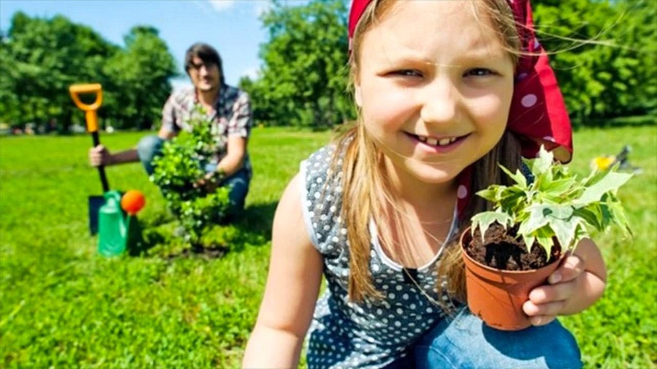 daughter-gardener